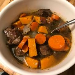 Beef stew, no gluten